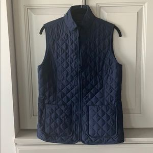 Tommy Hilfiger Navy Women's Quilted Vest Size S